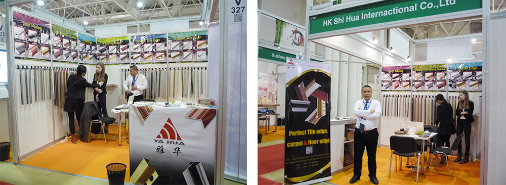 SHIHUA take in the exhibition in Russia