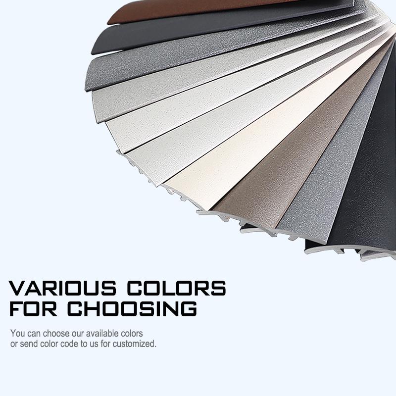 Stainless Steel Square Shape Interior Ceramic Tile Decoration Trim