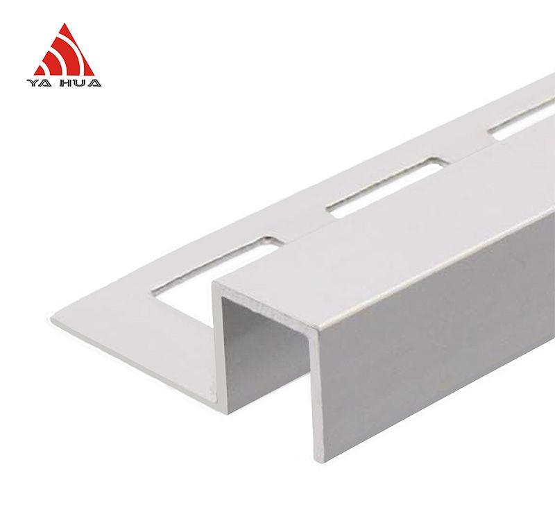 Aluminum Square  Shape Tile Trim AT
