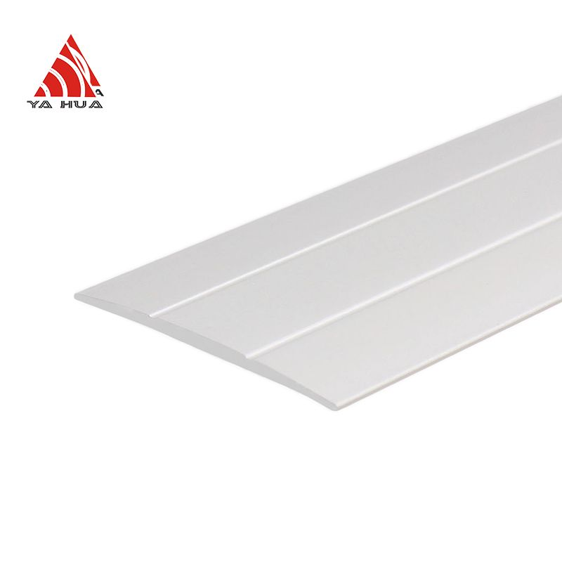 Easy To install Silver Floor Transition Strip