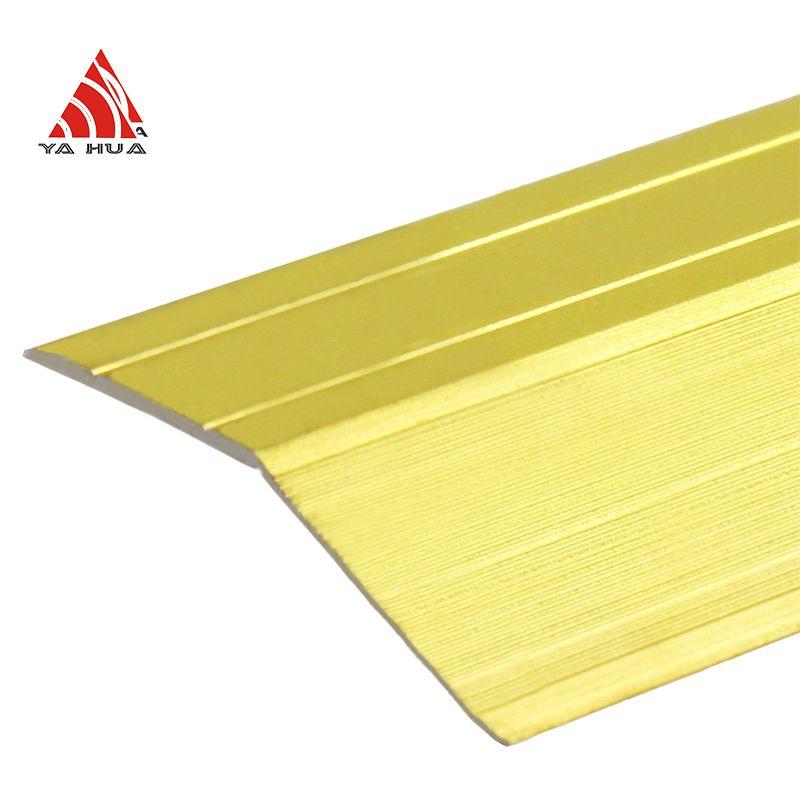 Durable aluminium transition strip
