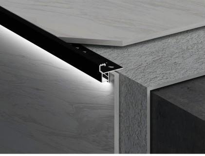Aluminium Led  stair noring profile LDFS