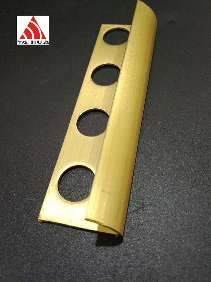 Yellow Brass edge trim