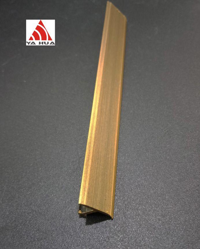 Brush Brass T profile