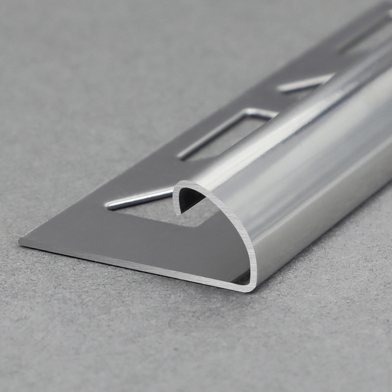 Stainless Steel Round Shape Tile Edge Trim SSCR
