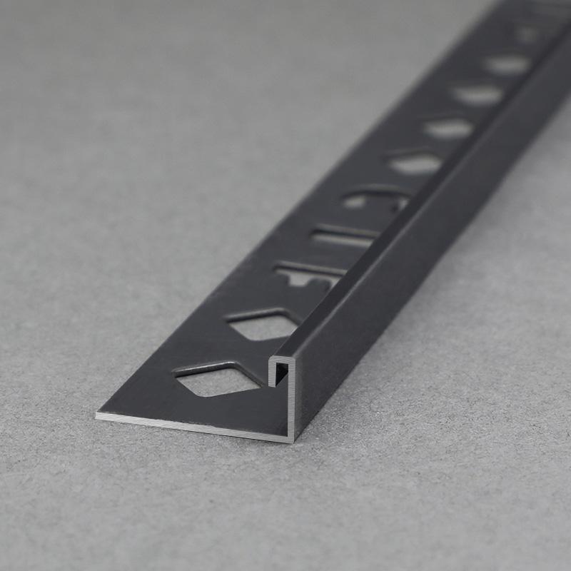 Stainless Steel L Shape Tile Decoration Trim Profile SSAGS