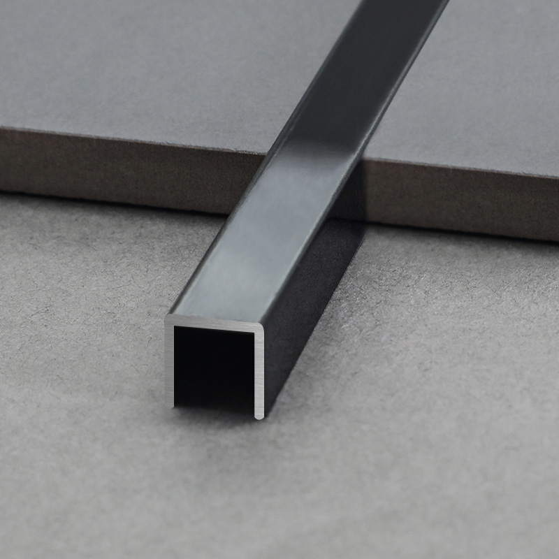 Stainless Steel Square Shape Wall Tile Decorative Trim SSUM