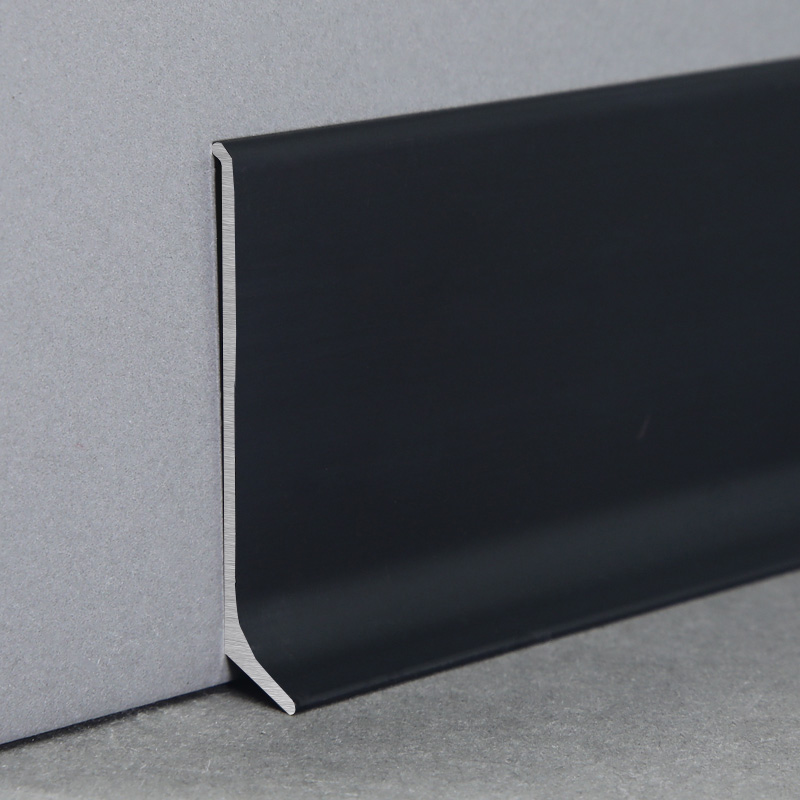 Eco-Friendly Aluminium Wall Edge Protection Skirting Board JT