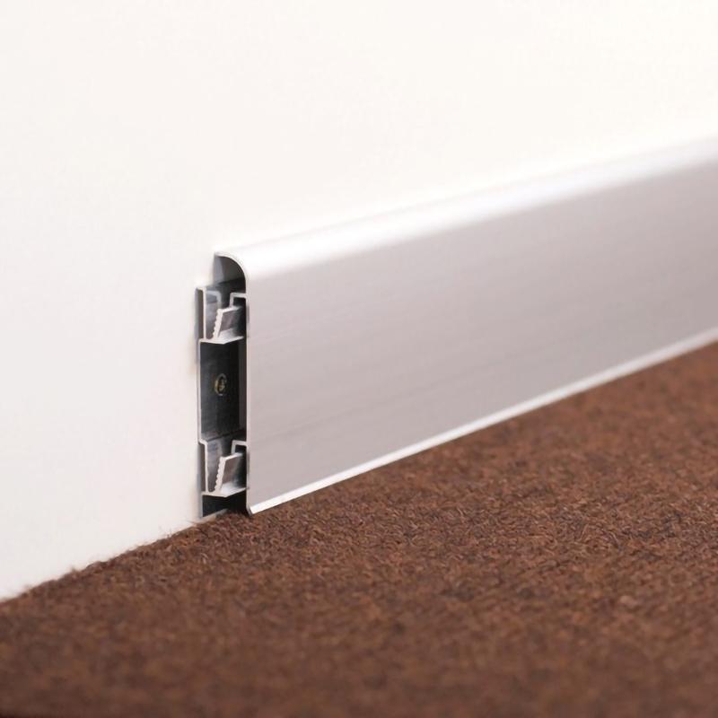 High Quality Floor Decoration Aluminium Skirting Board JK