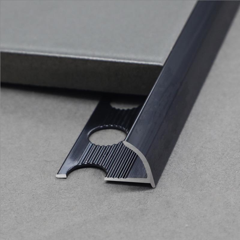 Decorative Anodized Aluminium Corner Tile Trim CRD