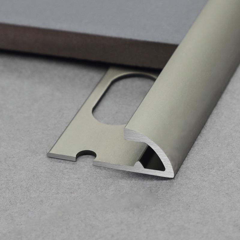 New Design Aluminium Round Shape Wall External Corner Tile Trim CRD2