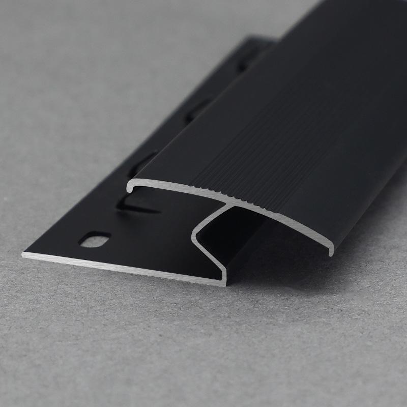 New Design Aluminium Decorative Carpet Edge Transition Strip Trim Profile MCT3