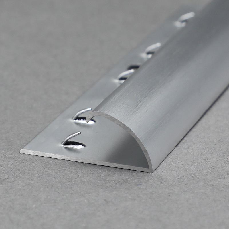 Aluminium Bullnose Carpet Threshold Strip Trim Edge Protector MCT2
