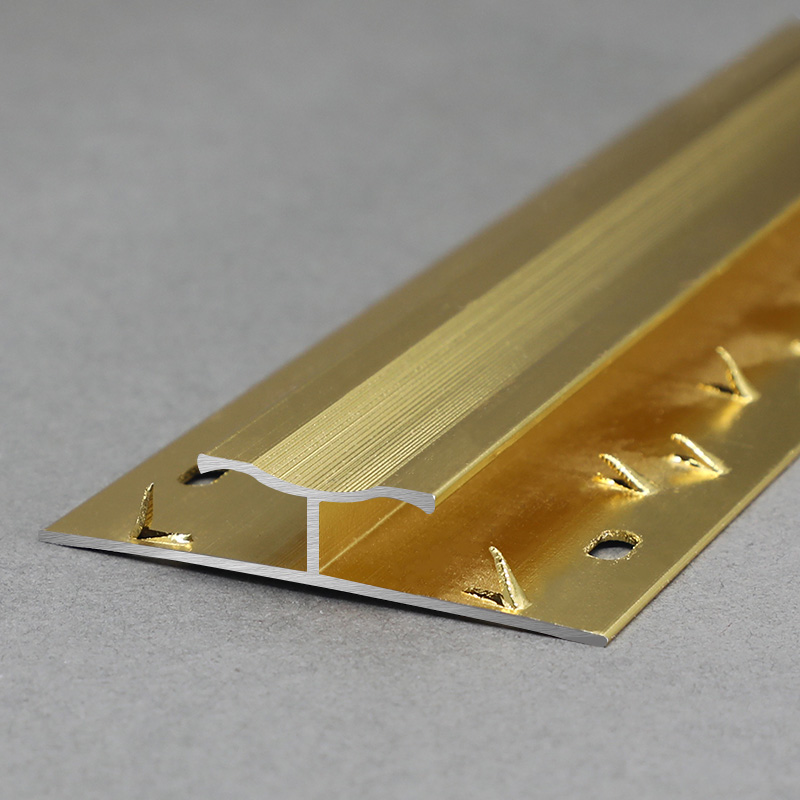 Aluminium Gloden Carpet Transition Trim Profile MCT1