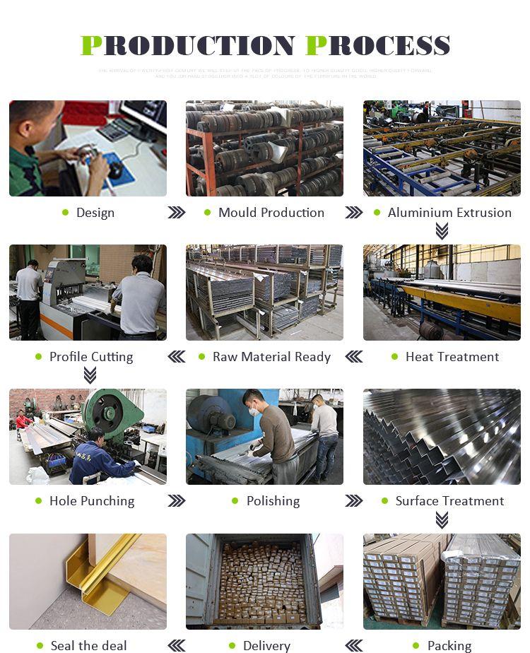 Aluminum Corner Tile Aluminum Trim